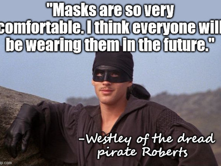 Who Is That Masked Man?