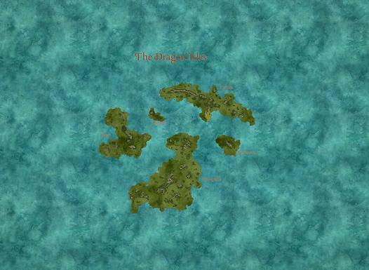 Kings of Eiria, The Dragon Isles resized