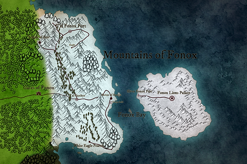 Smaller Region Map