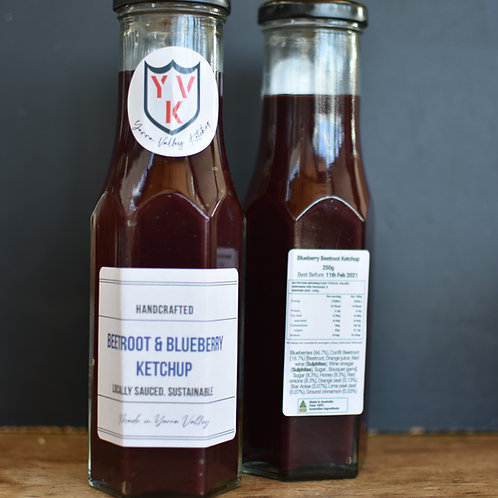 Beetroot and Blueberry Ketchup