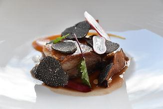 confit duck, truffle and radish.jpg