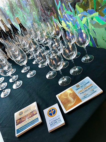 2019 CMAVic - 01 Mass Wine Cheese Event-