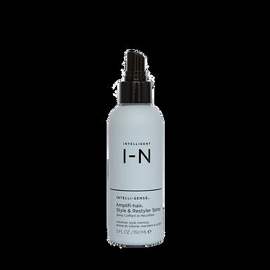 intelligent I-N amplifi-hair style & restyler spray