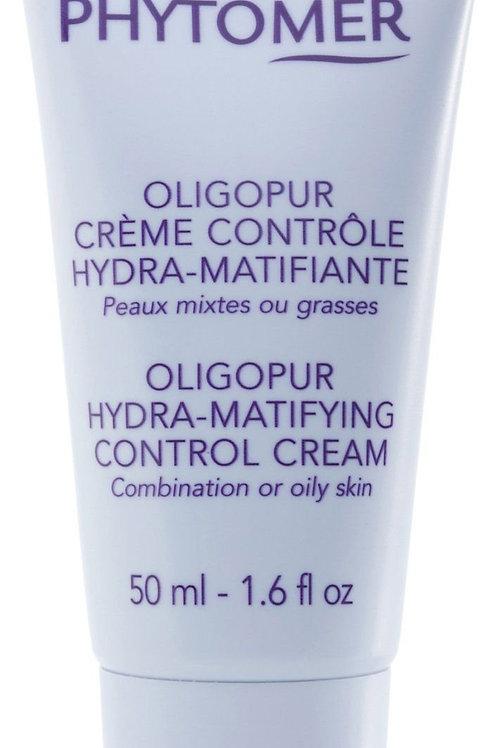 phytomer oligopur hydra-matifying control cream