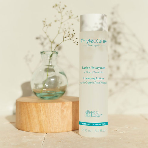 phytoceane shirakami cleansing lotion with organic aosa water