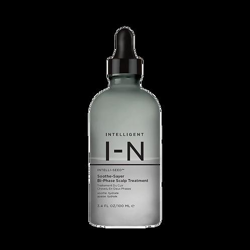 intelligent I-N soothe-sayer bi-phase scalp treatment