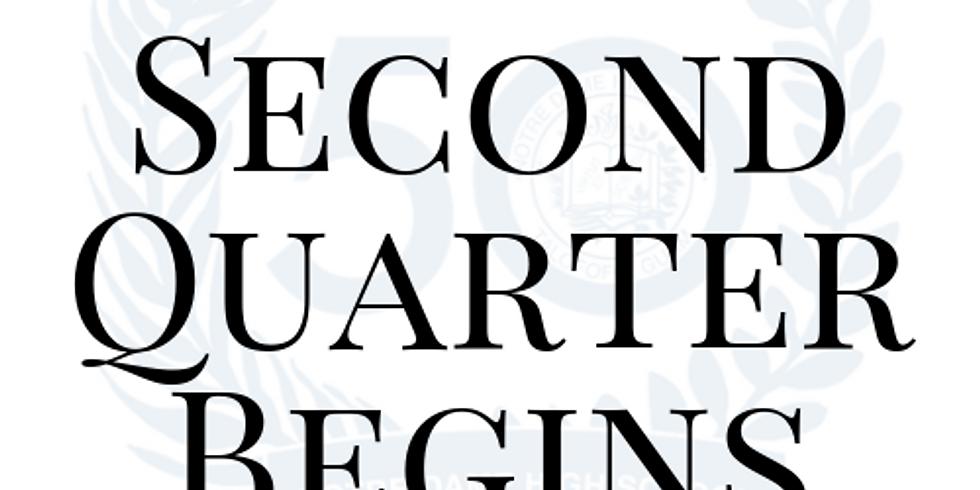 Beginning of Second Quarter