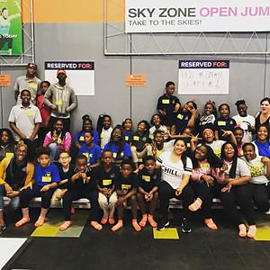 4th - 8th Graders go to Sky Zone for P.E. Field Trip