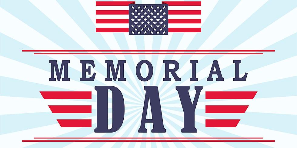 Memorial Day!!