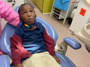 Miami Dade County Dental Van Visits IASW