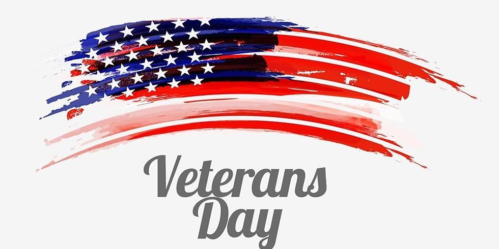 Veteran's Day - No School