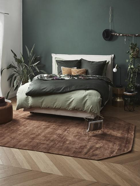 Schlafzimmer grün westwing pflanze