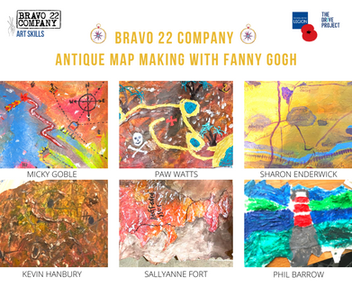 ANTIQUE MAP MAKING with FANNY GOGH