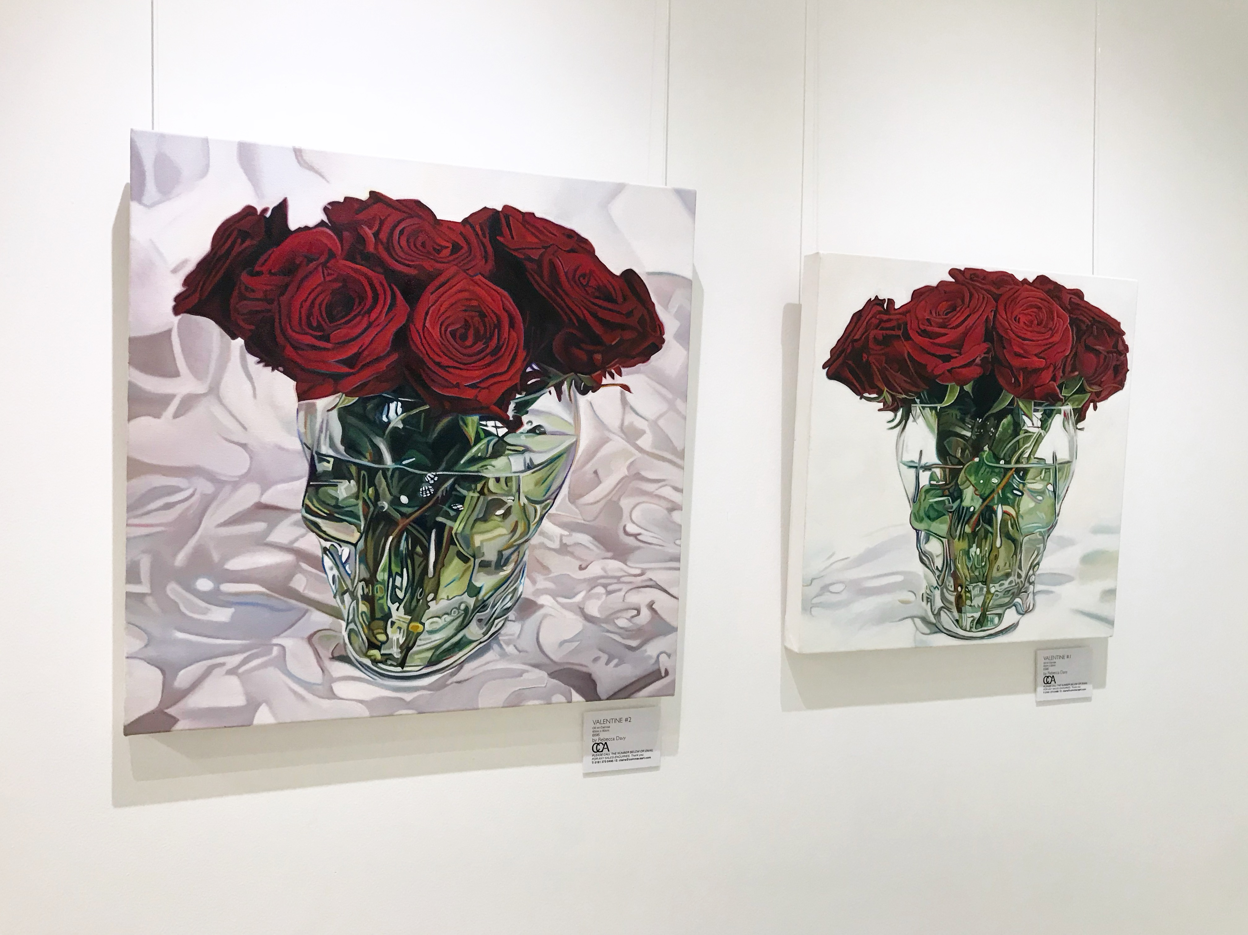 VALENTINE PAINTINGS at The Lowry Hotel