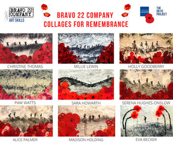 COLLAGES FOR REMEMBRANCE with MILLY LEWIN