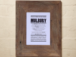 A Picture Paints a Thousand Words, Mulbury is Reducing Landfill One Picture Frame At a Time