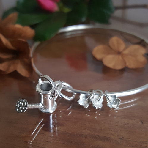 Bangle with Watering Can