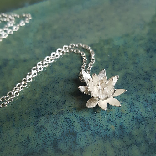 Lotus Petals Flower Necklace