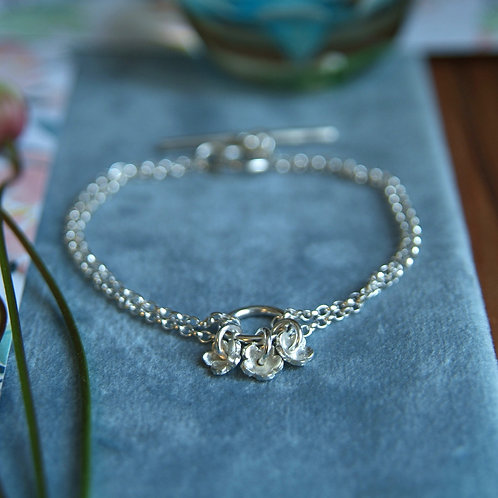 Forget-me-not Flower Bracelet