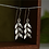 Silver Leaves Earrings - Olive Branch Jewellery