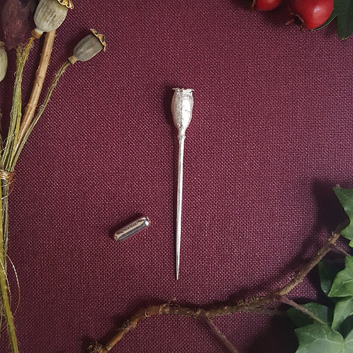 Poppy Pin Brooch
