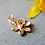 9ct Yellow Gold Daffodil Charm