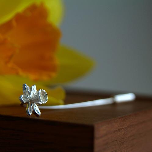 daffodil stick pin brooch