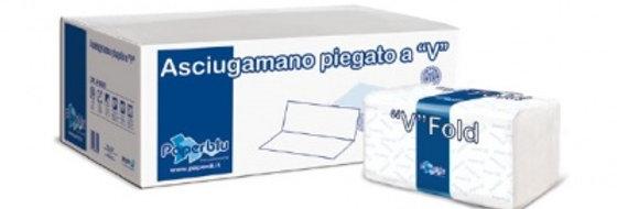 """Tovagliette Carta Asciugamani Pura Cellulosa Piegate a """"V"""" 3150 Pz Paperd�"""