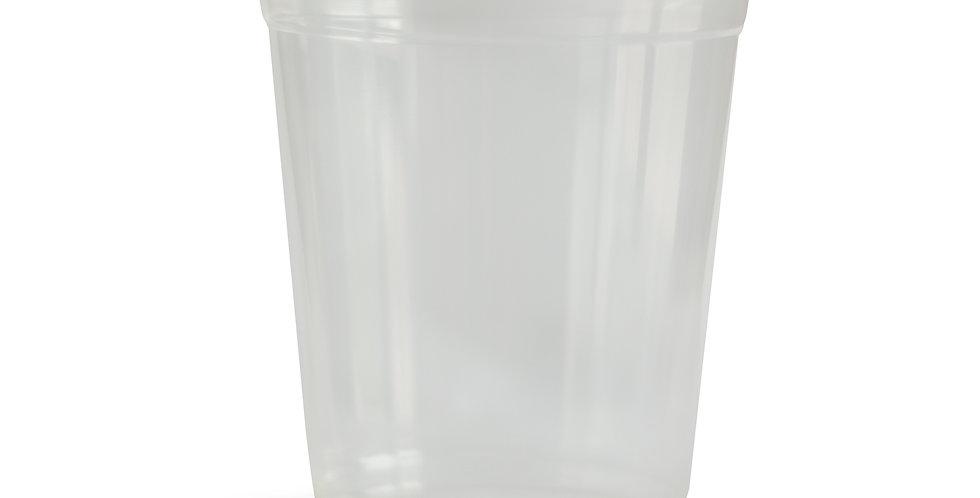 Sibodel 50 Pezzi - Bicchieri BIO PLA 350ml per bevande fredde