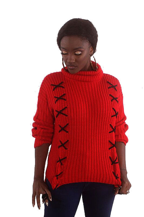 X Marks The Spot Sweater