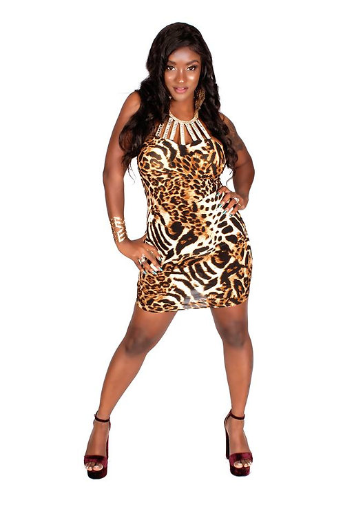Leopard Lady Dress