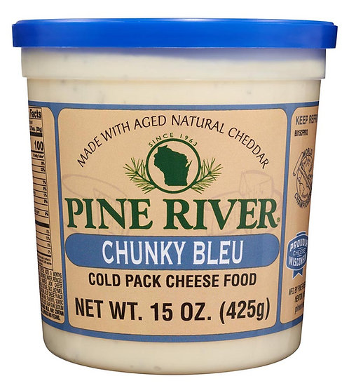 CHUNKY BLEU FLAVOR COLD PACK CHEESE