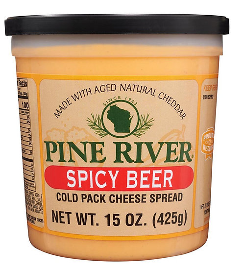 SPICY BEER COLD PACK CHEESE