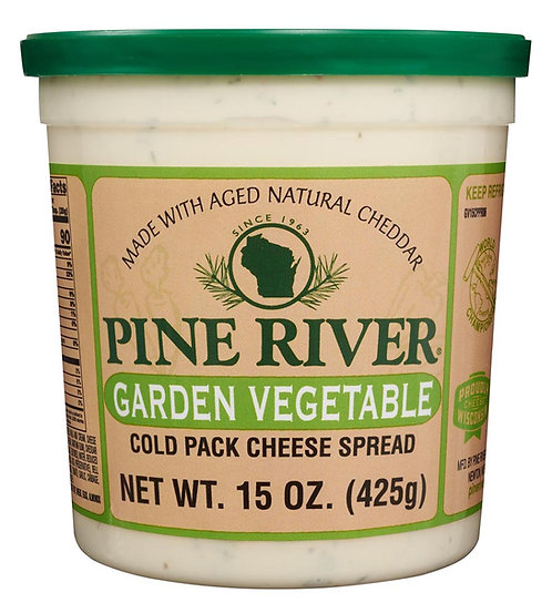 GARDEN VEGETABLE COLD PACK CHEESE
