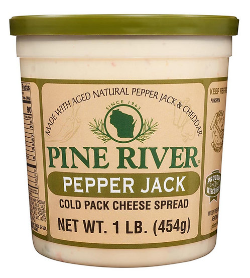 PEPPER JACK COLD PACK CHEESE