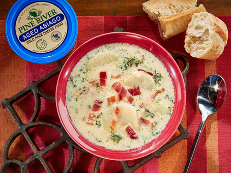 Aged Asiago Tuscan Zuppa