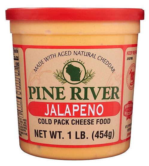 JALAPENO COLD PACK CHEESE