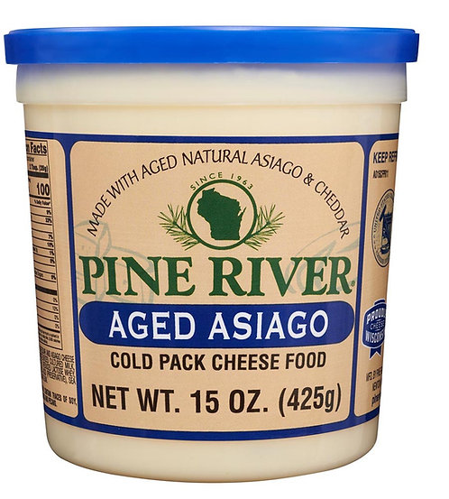 AGED ASIAGO COLD PACK CHEESE