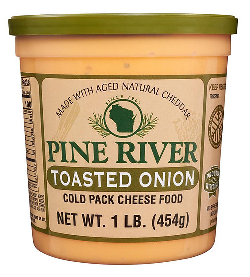 TOASTED ONION COLD PACK CHEESE