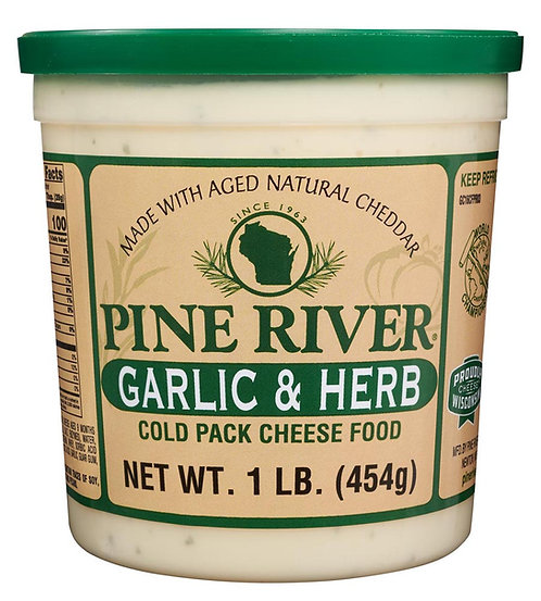 GARLIC & HERB COLD PACK CHEESE