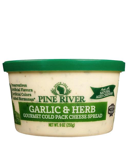 GARLIC & HERB COLD PACK CHEESE - No Preservatives
