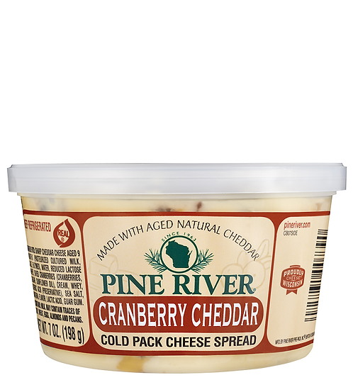 CRANBERRY CHEDDAR COLD PACK CHEESE