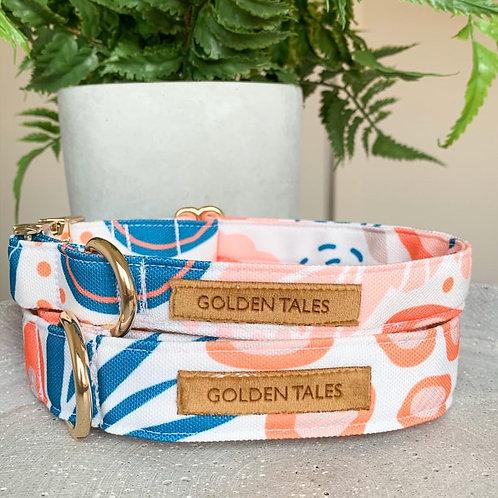 """Golden Tales """"Blushing Botanics"""" Collar"""