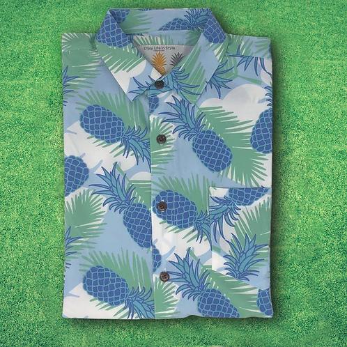 Super Stretch - Pineapple Cool Hawaiian Shirt