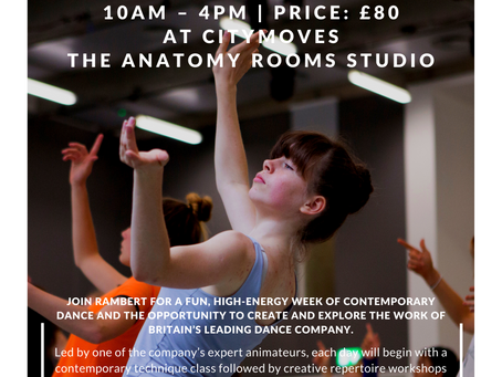 Easter Dance Intensive with Rambert