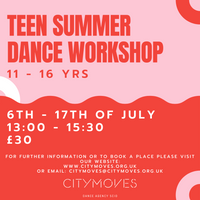Teen Workshop