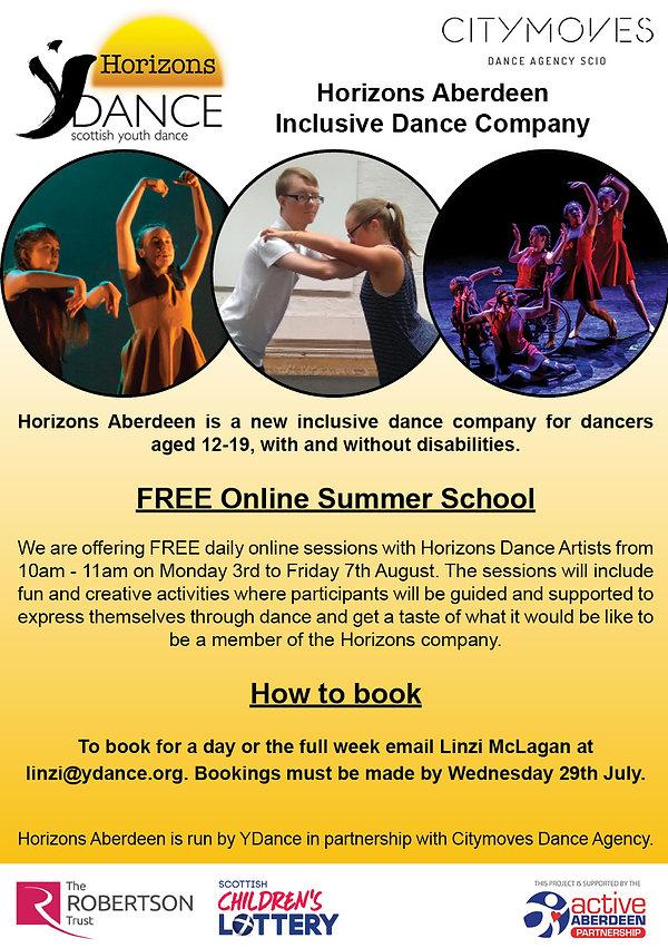 Horizons Aberdeen Online Summer School.j