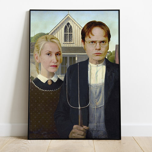 Scranton Gothic Print