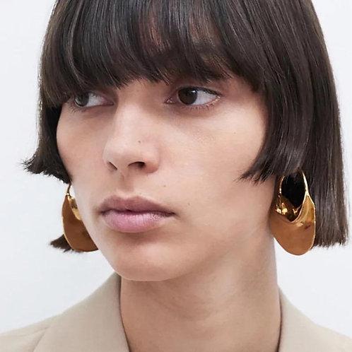 Shenia  14k Hoop Earrings