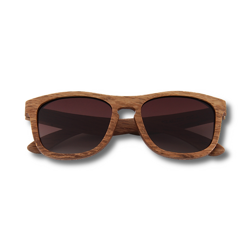 Real Zebra All Wood Jacks Sunglasses by WUDN